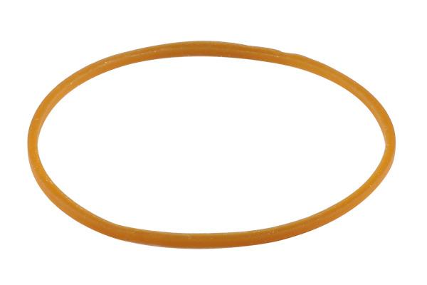 BÜROLINE Gummibänder 80x1,3mm 155218 braun, ø 50mm 100g