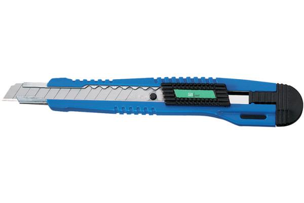 BÜROLINE Cutter 2 9x80mm 167002 farbig ass.