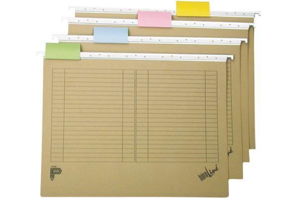 BÜROLINE Hängemappe A4 190050 assortiert 20 Stück