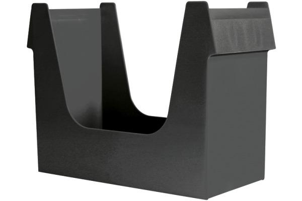 BÜROLINE Hängemappenbox A4 191100 schwarz