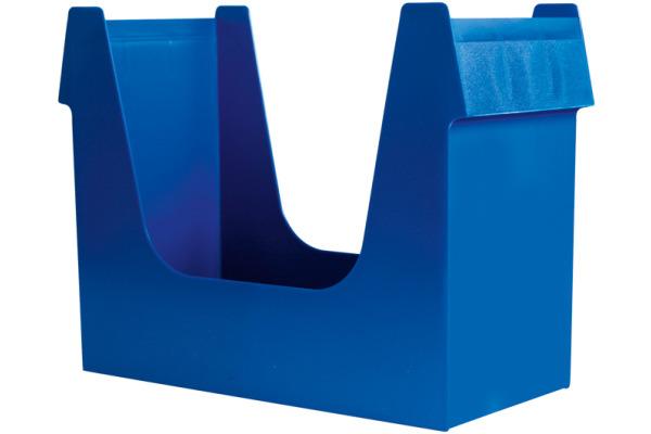 BÜROLINE Hängemappenbox A4 191102 blau