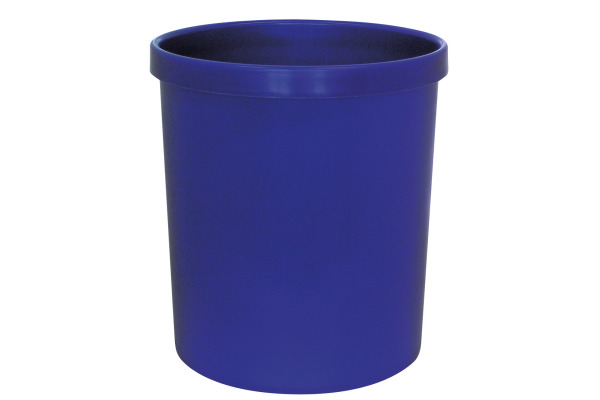 BÜROLINE Papierkorb 196532 blau 18lt