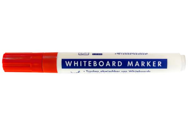 BÜROLINE Whiteboard Marker 1-4mm 223002 rot