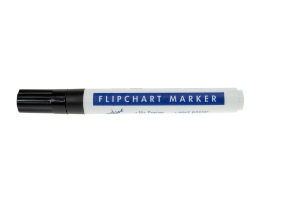 BÜROLINE Flipchart Marker 1-4mm 223015 schwarz