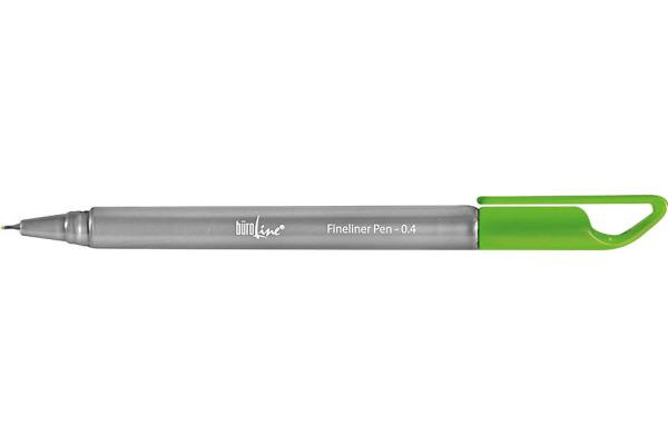 BÜROLINE Fineliner Clip 0,4mm 223080...