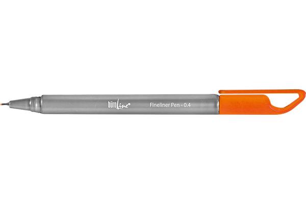 BÜROLINE Fineliner Clip 0,4mm 223083 orange