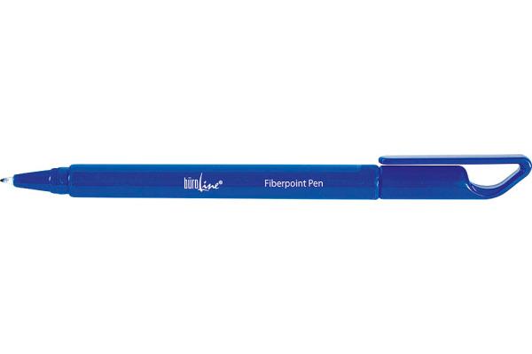 BÜROLINE Fiberpoint Pen 0,7mm 223085 blau