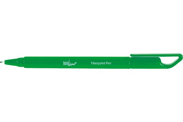 BÜROLINE Fiberpoint Pen 0,7mm 223088 grün