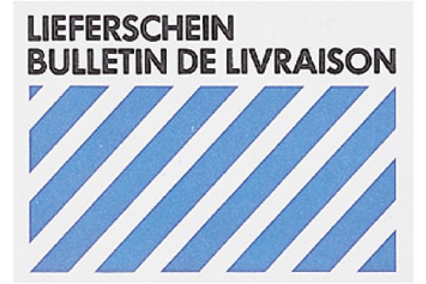BÜROLINE Couvert Lieferschein C6 306104 80g, weiss 50 Stück