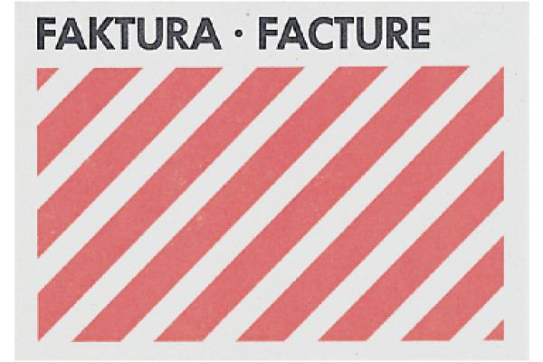 BÜROLINE Couverts Faktura C6 306105 80g 50 Stück