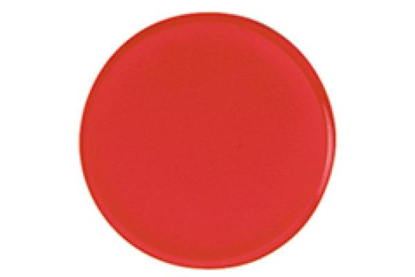 BÜROLINE Magnet 24 mm 392621 rot 6 Stück