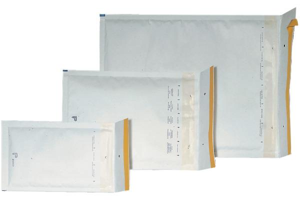 BÜROLINE Luftpolstertasche Grösse4 450124 weiss 200x275mm 100 Stück