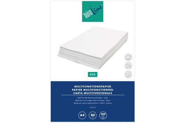 BÜROLINE Kopierpapier Eco A4 525010 80g, weiss...