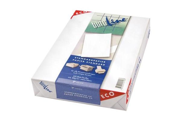 BÜROLINE Kopierpapier ECO A3 525011 weiss, 80g 500 Blatt
