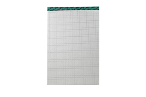 BÜROLINE Büroblock recycling A5 543254 kariert, 65g 100 Blatt