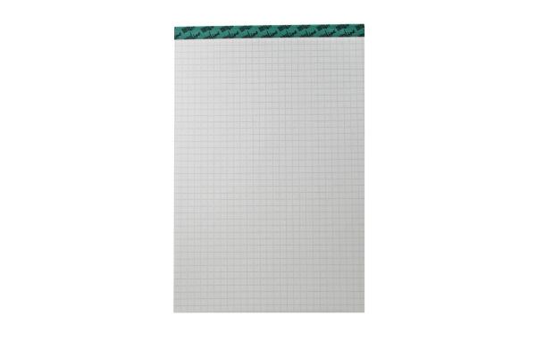 BÜROLINE Büroblock recycling A5 543255 kariert, 65g 100 Blatt