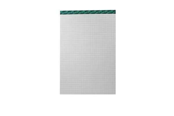 BÜROLINE Büroblock recycling A6 543264 kariert,4mm, 65g 100 Blatt