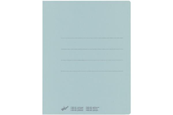 BÜROLINE Einlagemappe Recycling A4 603442 blau 100 Stück