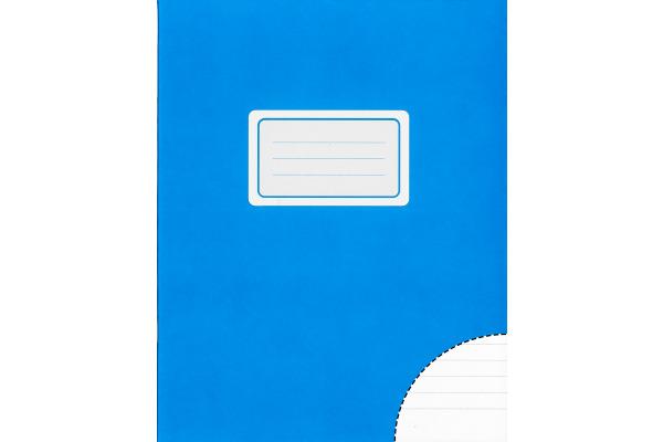 BÜROLINE Schulheft 17,5x22cm 610078 liniert, 8mm, 80g 24 Blatt