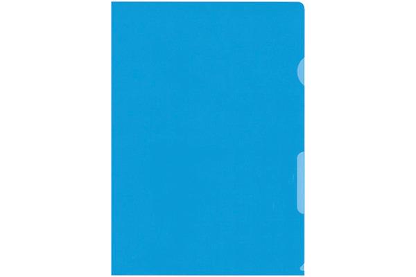 BÜROLINE Sichtmappen A4 620072 blau 100...
