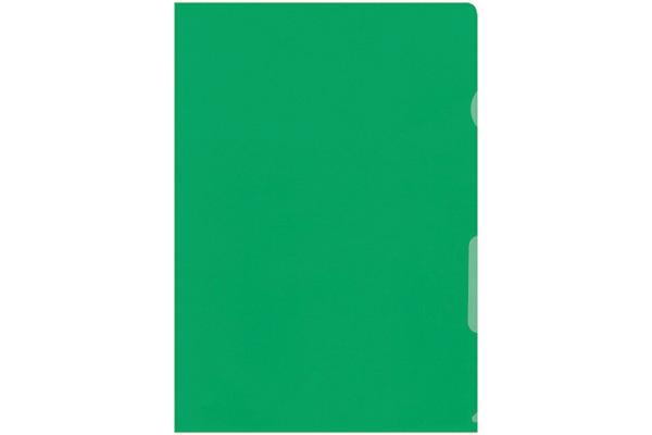 BÜROLINE Sichtmappen A4 620073 grün 100...