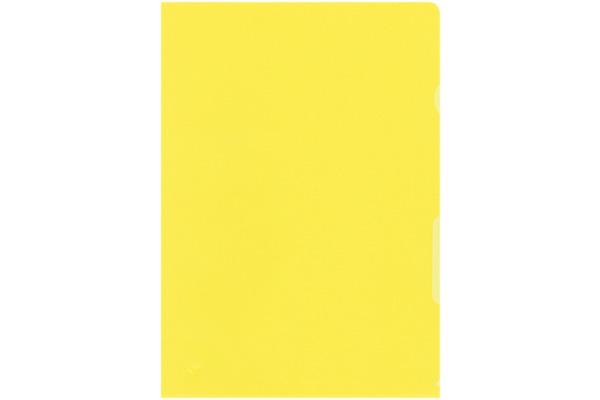 BÜROLINE Sichtmappen A4 620075 gelb 100...