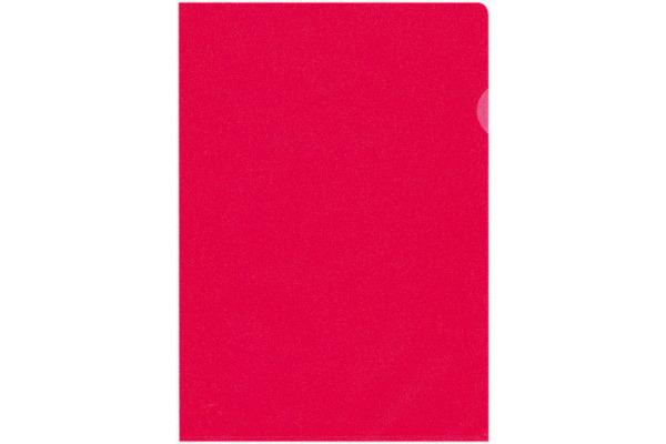 BÜROLINE Sichtmappen A4 620081 rot, matt 100...