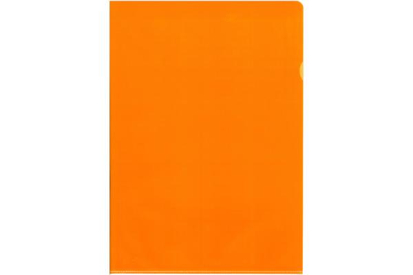 BÜROLINE Sichtmappen A4 620101 orange, matt 100...