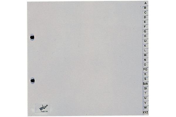 BÜROLINE Register PP grau A4 620175 A-Z,...