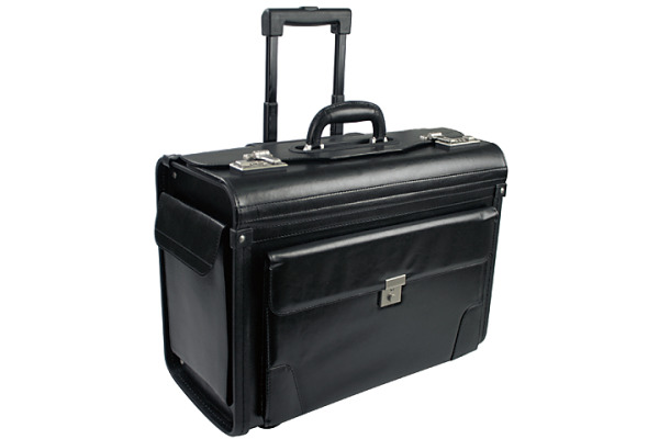 BÜROLINE Pilotenkoffer 663379 25x39,5x48cm schwarz