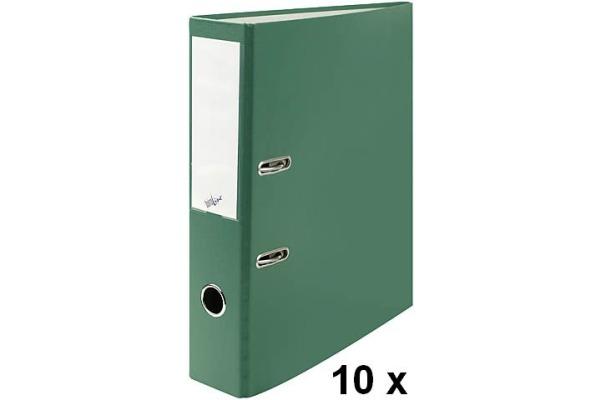BÜROLINE Ordner 7cm 670085 grün, 10...