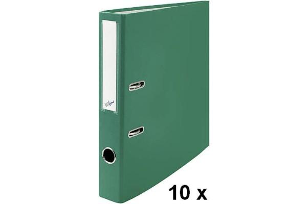 BÜROLINE Ordner 4cm 670092 grün, 10...