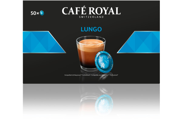 CAFE ROYAL Office Pads 2001696 10167793 Lungo 50...