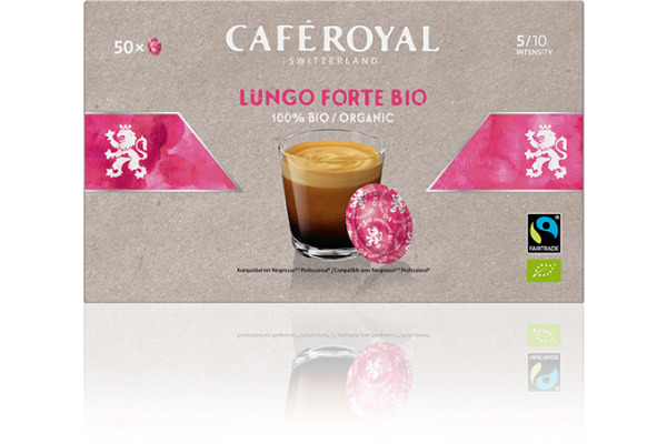 CAFE ROYAL Kaffeepads Bio Havelaar 10188335 Lungo Forte...