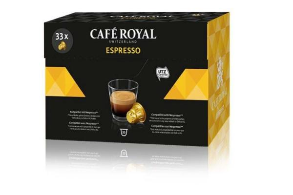 CAFEROYAL Kaffeekapseln 2000665 Espresso 33 Stk.