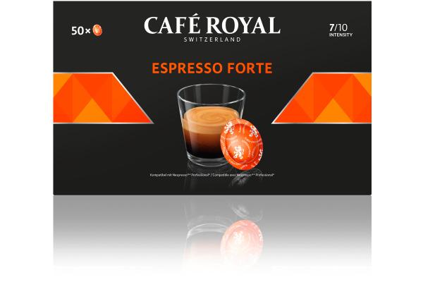 CAFE ROYAL Office Pads 2001376 Espresso Forte 50 Stk.