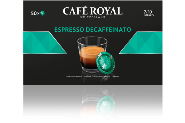 CAFEROYAL Office Pads 2001378 Espresso decaf. 50 Stk.