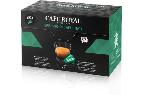 CAFEROYAL Kaffeekapseln 2001591 Espresso Decaffinato 33 Stück