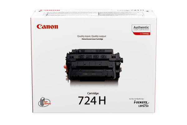 CANON Toner-Modul 724H schwarz 3482B002 LBP 6750dn 12´500 Seiten