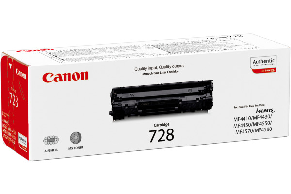 CANON Toner-Modul 728 schwarz 3500B002 MF 4410 4580 2100 Seiten