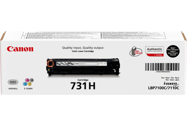 CANON Toner-Modul 731H schwarz 6273B002 LBP 7100/7110...