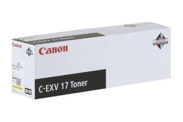 CANON Toner yellow C-EXV17Y IR 4080/4580 30´000 Seiten