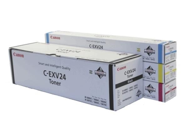 CANON Toner C-EXV 24 schwarz C-EXV24BK IR 5800/6800 48´000 Seiten