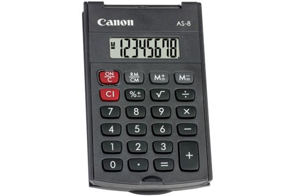 CANON Taschenrechner CA-AS8 8-stellig