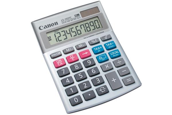CANON Tischrechner CA-LS103TC 10-stellig