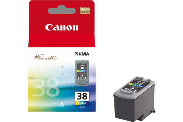 CANON Druckkopf color CL-38 PIXMA iP 2500 3x3ml