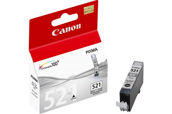 CANON Tintenpatrone grey CLI-521GY PIXMA MP 980 9ml