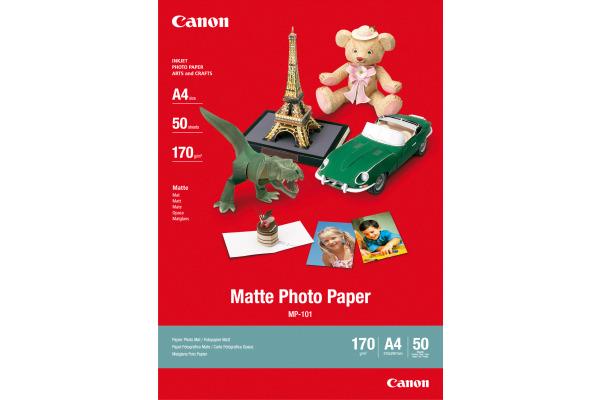 CANON Matte Photo Paper A4 MP101A4 InkJet, 170g 50 Blatt
