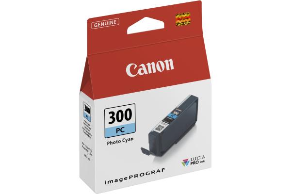 CANON Cartouche dencre photo cyan PFI-300 iPF PRO-300 14.4ml