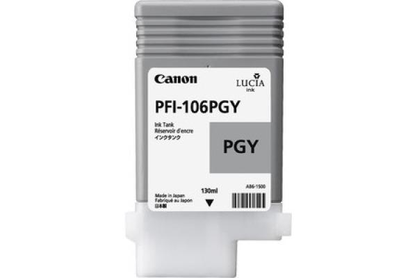 CANON Tintenpatrone photo grey PFI106PGY iPF 6300 6350 130ml